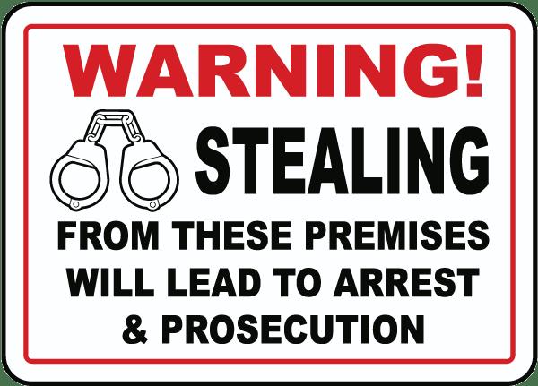 no stealing sign