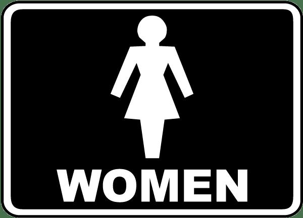 women sign: