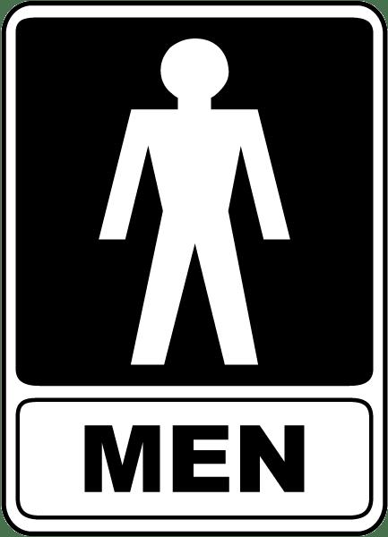 Men Restroom Sign F4915 By Safetysign Com