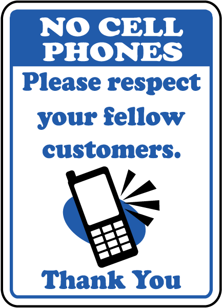 Fellow Customers Respect Sign By F7213