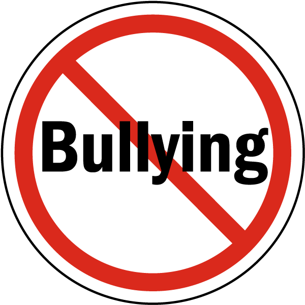 Image result for no bullying sign