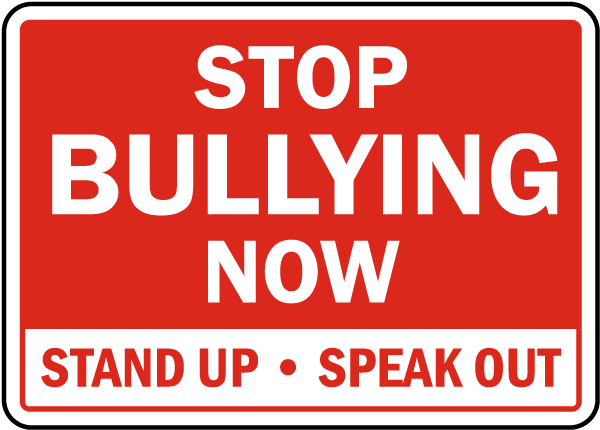 Stop bullying at school
