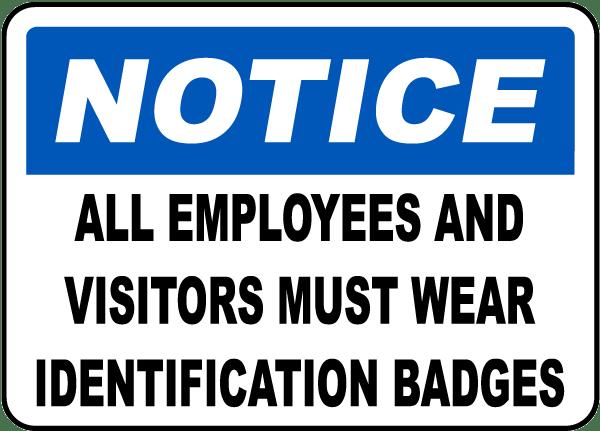 photo identification badges