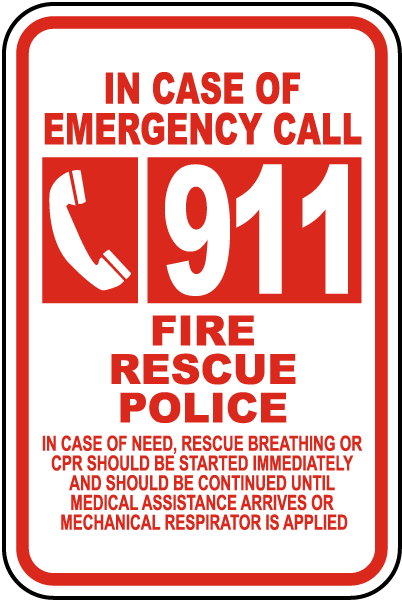 how to call 911 in bc
