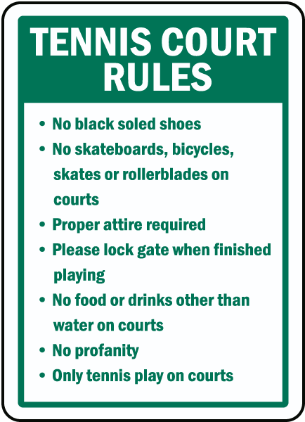 Basic Rules for Playing Tennis - Kids Sports Activities
