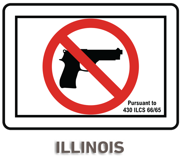 Vibrant image in no guns allowed sign printable
