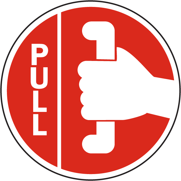Pull Label By Safetysign Com G2038