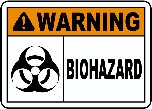 graphic regarding Quarantine Sign Printable referred to as Key terms Strategies Printable Biohazard Caution Signs or symptoms Very long
