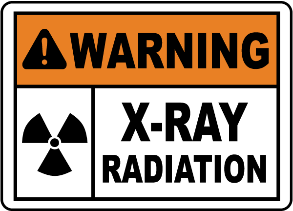 X Ray Radiation >> Warning X Ray Radiation Sign H1421 By Safetysign Com
