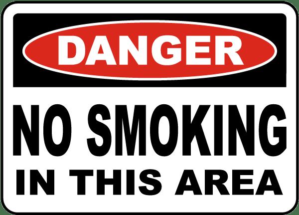 No Smoking Signs - No Smoking E-Cigarettes | Seton