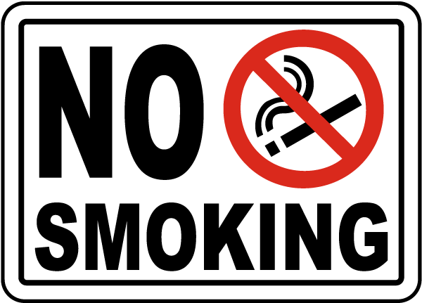 Comprehensive image inside printable no smoking signs