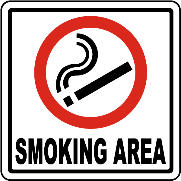 Prohibited Smoking Area Sign By Safetysign Com J3725