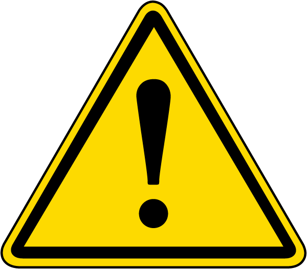 General Warning Label J6520 By Safetysign