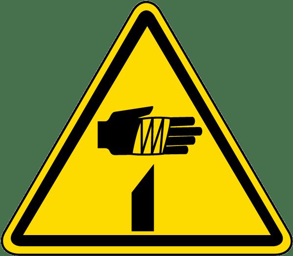 Sharp Element Warning Label J6806 By Safetysign