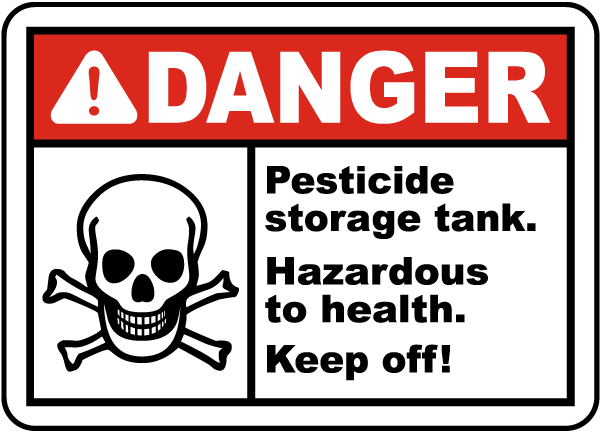 Pesticide storage tank keep off sign k2329 by safetysign pesticide storage tank keep off sign publicscrutiny Image collections