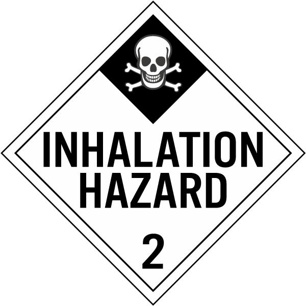 Inhalation Hazard Class 2 Placard K5651 By Safetysign