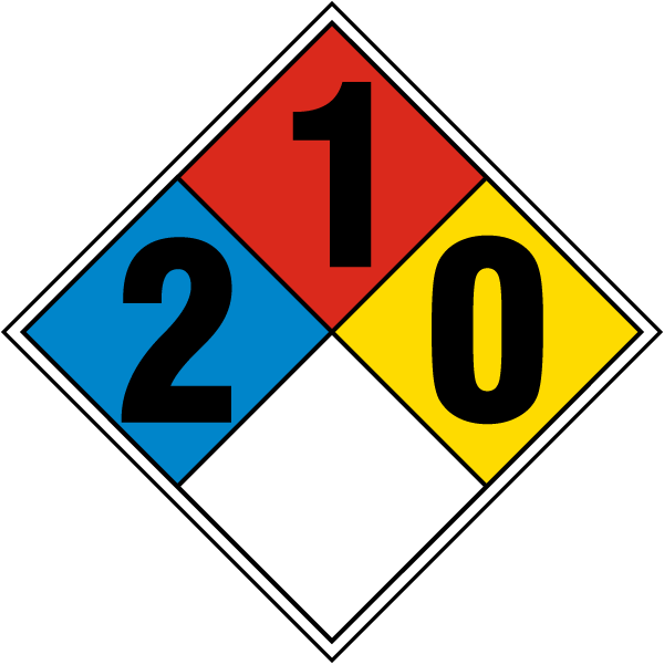 Nfpa diamond 2 1 0 m3358 by safetysign nfpa diamond 2 1 0 publicscrutiny Image collections