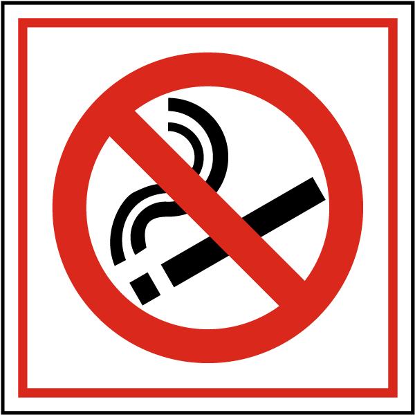 Item R5329 Label Design International No Smoking Symbol Compliance