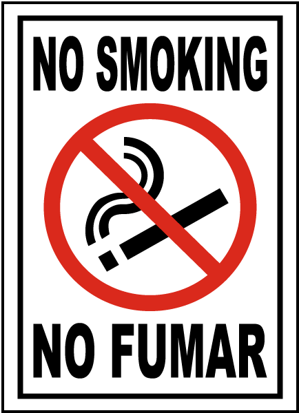 It's just an image of Gargantuan No Smoking Sign Printable