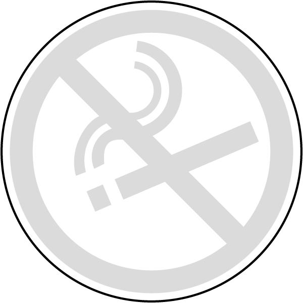 No Smoking Symbol Label R5455 By Safetysign Com