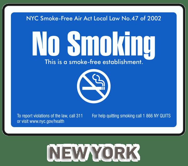new york city no smoking sign r5724 by safetysign com