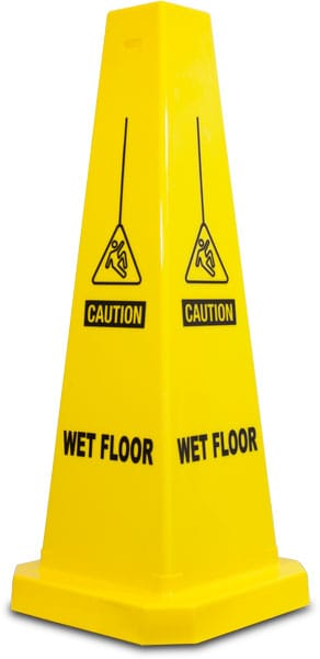 Caution Wet Floor Cone