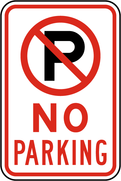 Hilaire image throughout printable no parking sign