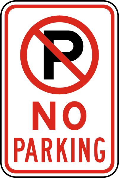 Fabulous image regarding printable no parking sign