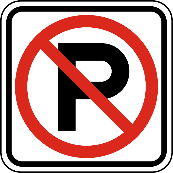 Image result for no parking signs