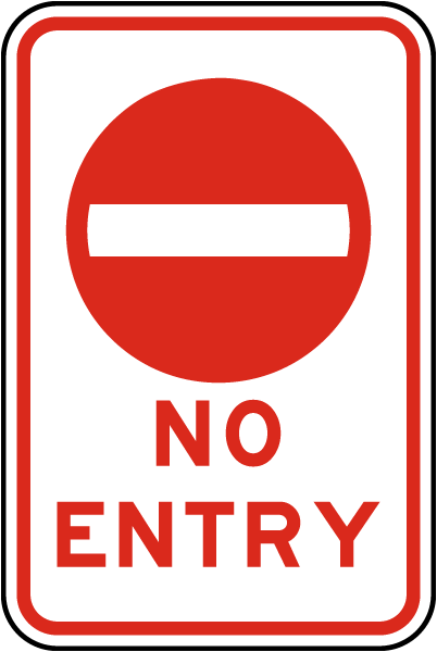 No Entry Sign W5410  By Safetysignm. Rc Number Decals. Bengali Signs. Illustration Logo. Light Reflective Stickers. Spongebob Logo. Freepik Banners. Travel Logo. D&d Banners
