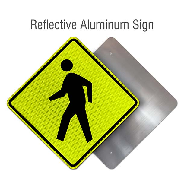 pedestrian crossing sign x5642 by safetysign com