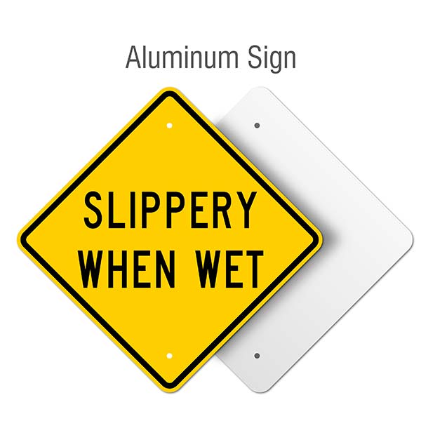 Slippery Label R1482 - by SafetySign.com