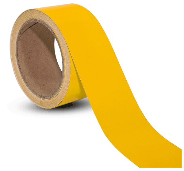 Yellow Reflective Tape By Floor Marking Tape