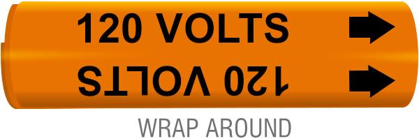120 Volts Wrap-Around Marker