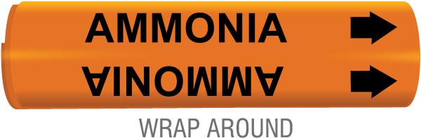Ammonia Pipe Marker