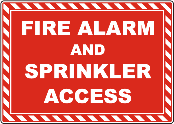 Fire Alarm and Sprinkler Access