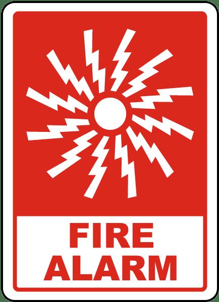 Fire Alarm Sign