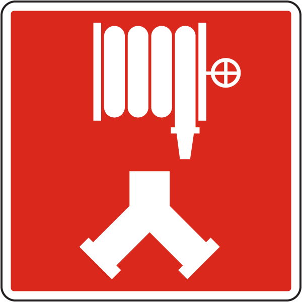 Fire Department Standpipe Connection Sign