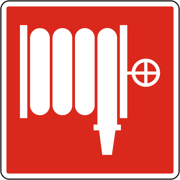 Fire Hose or Standpipe Outlet Sign