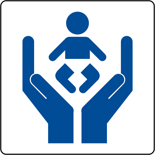 Child Care Center symbol sign