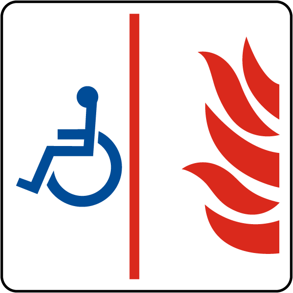 Accessible Area of Refuge Sign