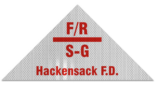 Hackensack Nj Floor And Roof S G Truss Sign A5409 By