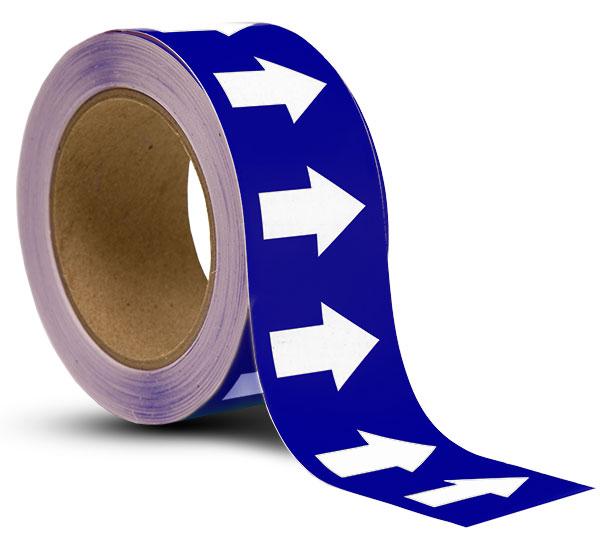 Blue / White Arrow Banding Tape