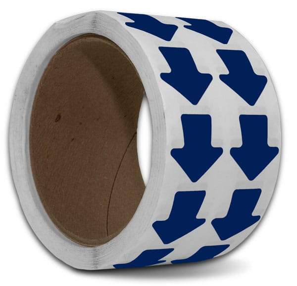 Blue Arrow Floor Marking Tape