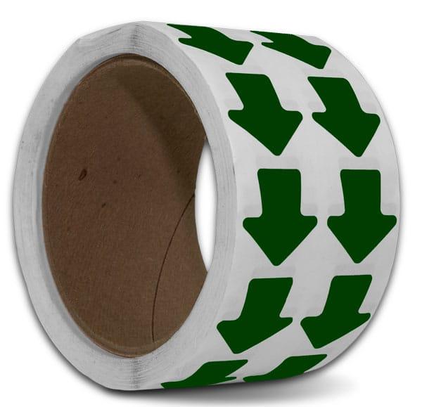 Green Arrow Floor Marking Tape