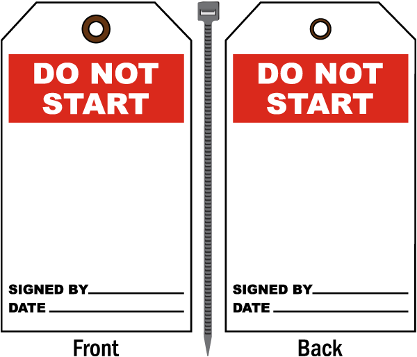Do Not Start Tag