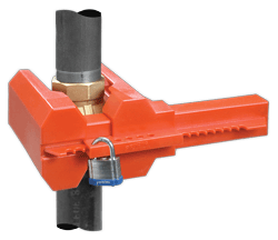 Ball Valve Lockout Device