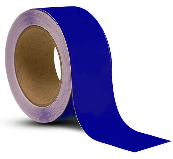 Blue Vinyl Floor Marking Tape
