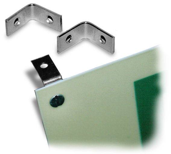 L-Shaped Mounting Brackets