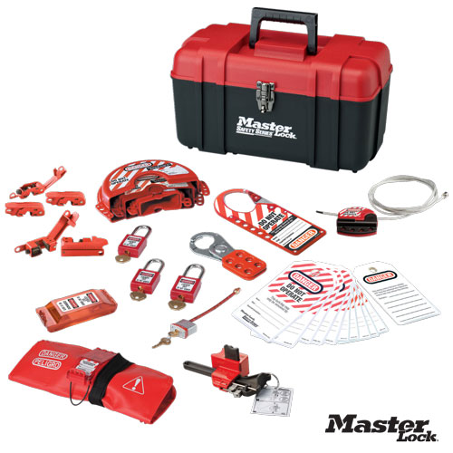 portable valve and electrical lockout kit - Lock Out Tag Out Kits